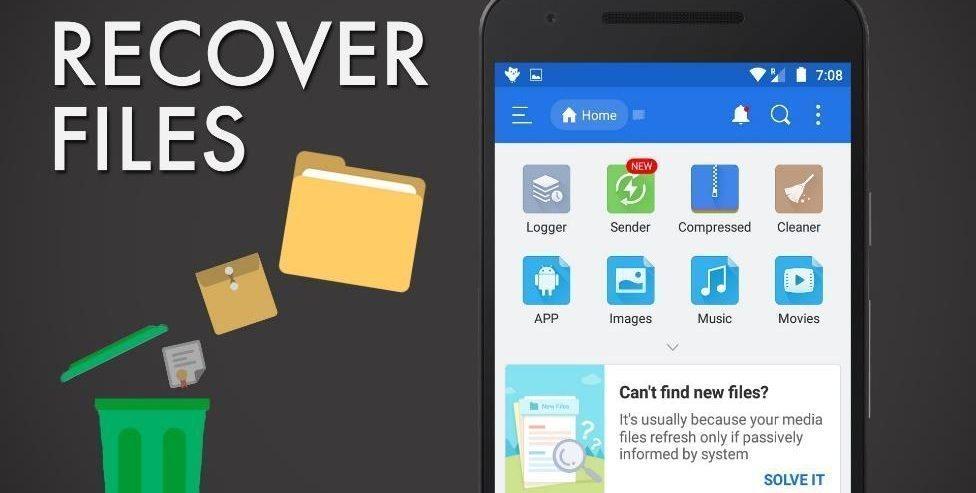 Cara Merestore File yang Terhapus di Android