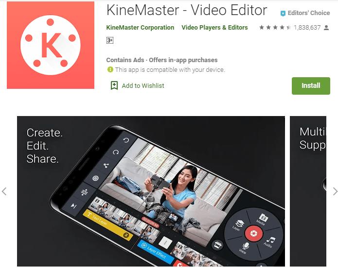 KineMaster – Video Editor