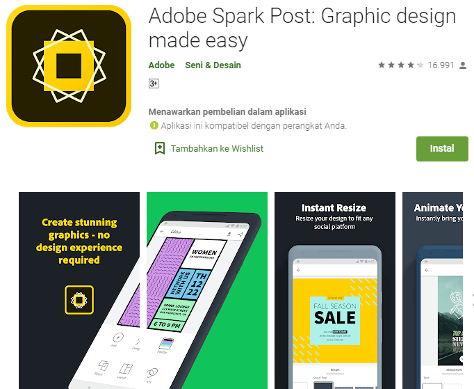 Adobe Spark Post: Graphic design made easy