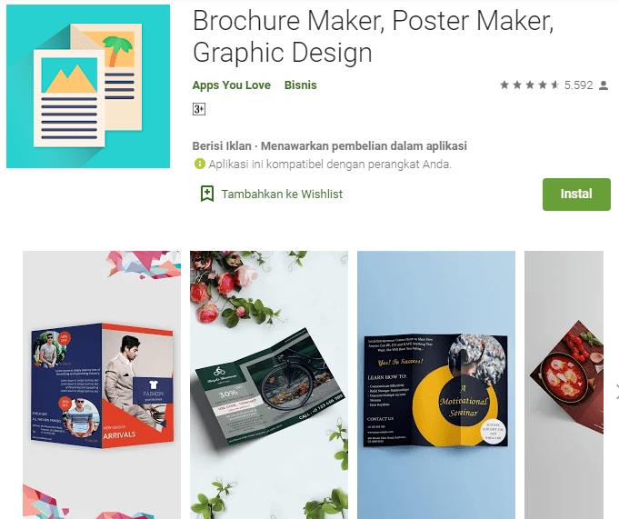 Brochure Maker, Poster Maker, Graphic Design