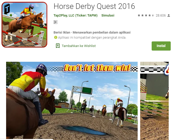 Horse Derby Quest 2016
