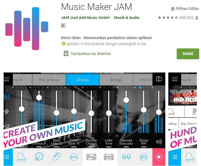 Music Maker JAM