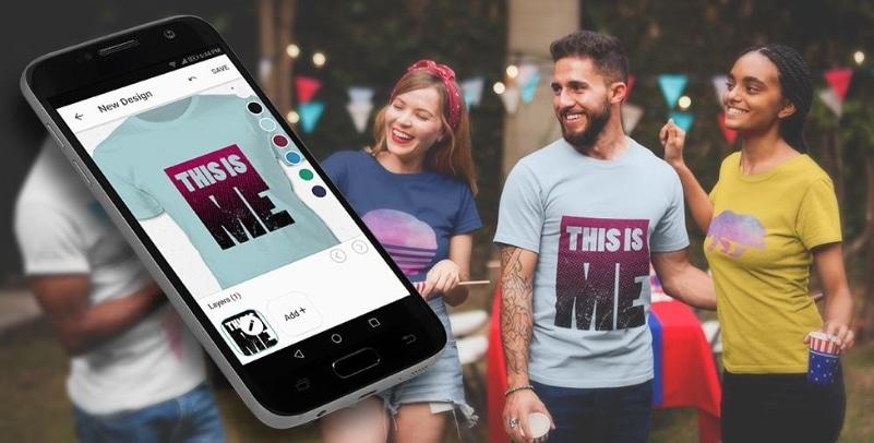 Aplikasi Desain Kaos di Android