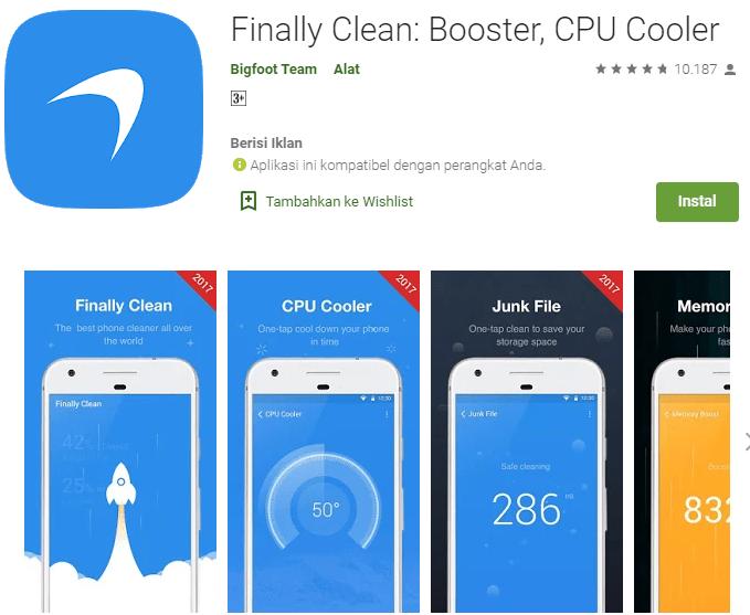 Finally Clean: Booster, CPU Cooler