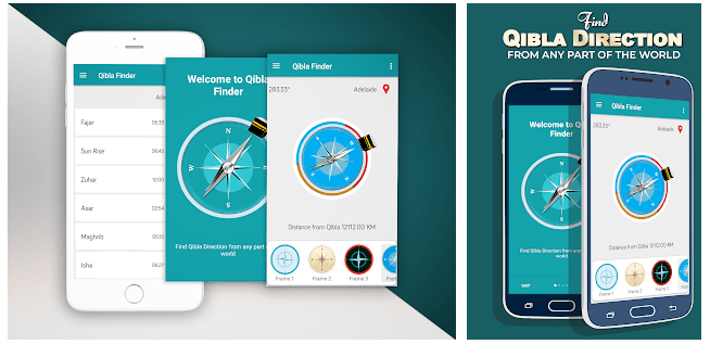 Aplikasi Qibla Finder