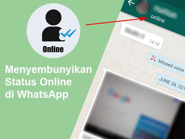 Cara Menyembunyikan Tanda Online di WA dengan Aplikasi
