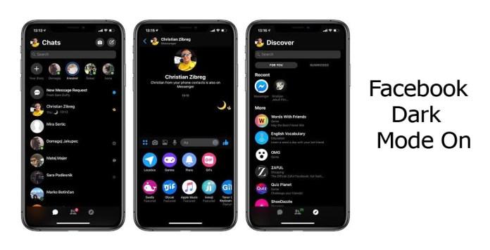 Cara Mengaktifkan Dark Mode Facebook di Android