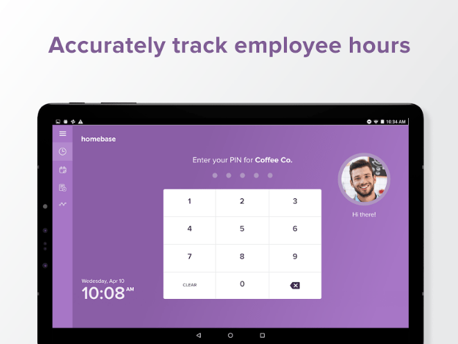 Time Clock by Homebase