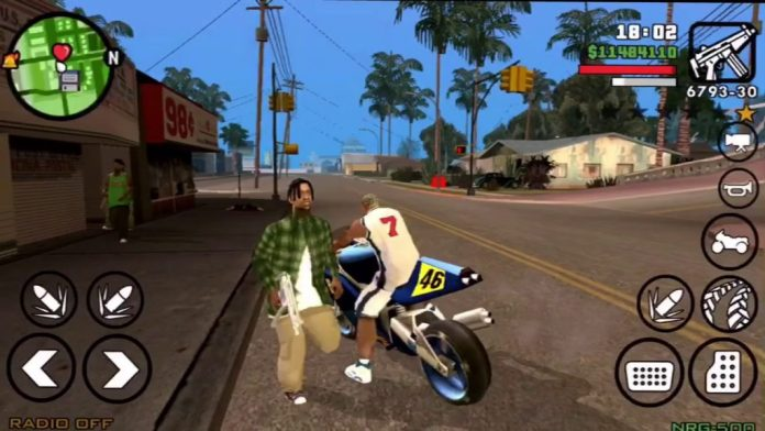 Download MOD GTA San Andreas Android