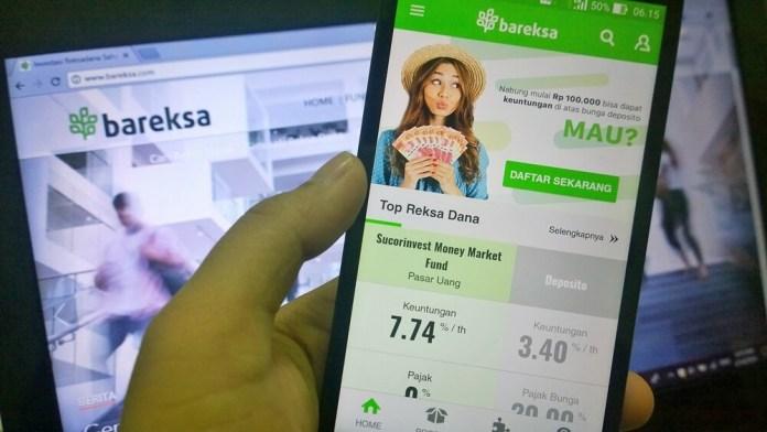 Aplikasi Investasi di Android