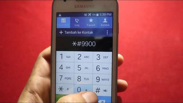 Kode Rahasia di Samsung