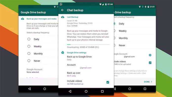 Mengembalikan Chat WA Hilang Lewat Google Drive
