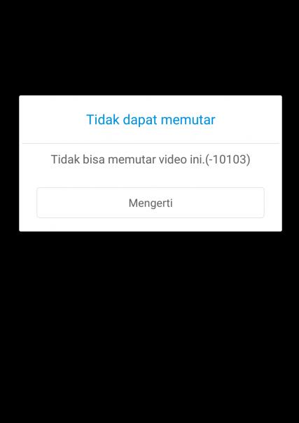 Tidak Bisa Memutar Videodi HP Xiaomi