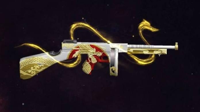 Senjata Sub Machine Gun Free Fire