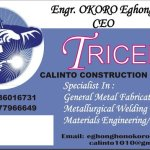 Welding & Fabrication Services: Contact TRICEES for Professional Wielding Services in Nigeria