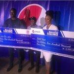 #BBnaija Leo and IFU both get thier N2.5 million Reward from Pepsi (Photos)