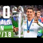 Video: Cristiano Ronaldo – All Goals for Real Madrid – 2017/18 Season