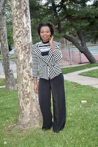 How to style wide legs pant- spring edition graphic