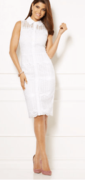 NY&COMPANY white dress