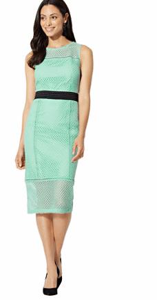 newyorkandcompay mint dress