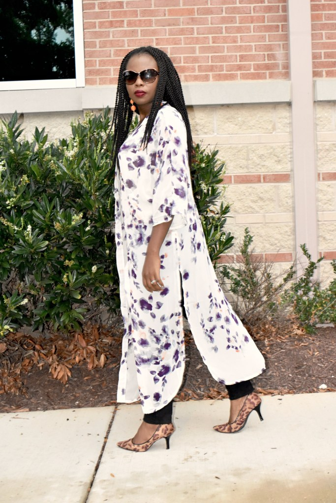 Kimono is one of the best layering pieces for fall. (Fall series 2) graphic