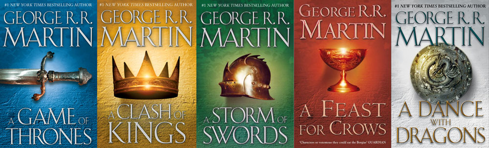 Image result for a song of ice and fire books
