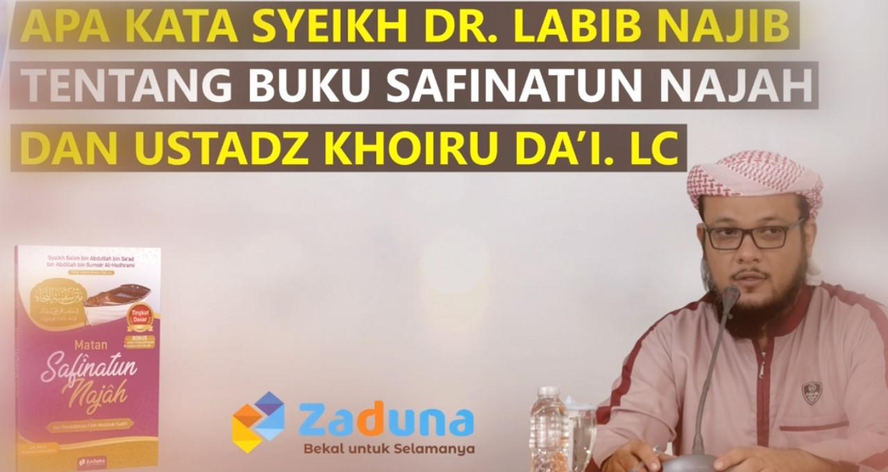 Syaikh Labib Najib kitab Safinah-bukubagus.id