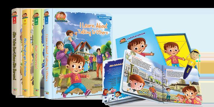 Little Abid Balita Cerdas & Saleh Buku Hafiz Pen