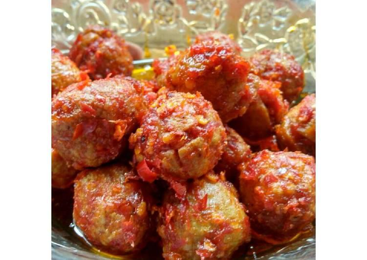 Bakso Mercon, Resep Membuat Masakan Bakso Mercon Super Pedas Dan Nikmat