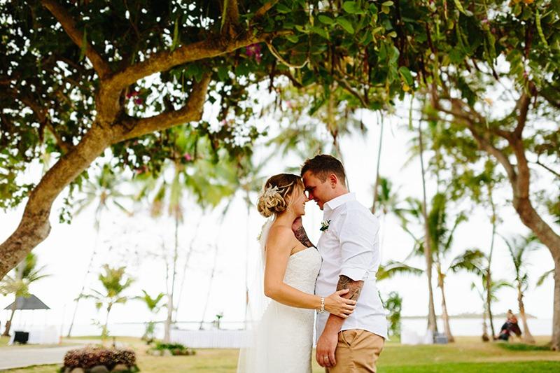 Brad & Jessica — Sheraton Fiji Wedding
