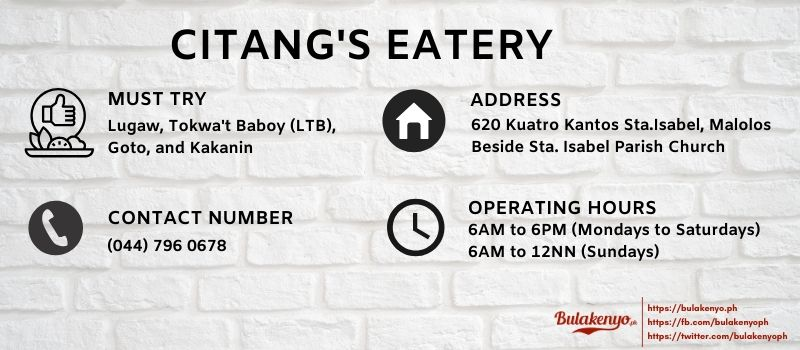 CITANG'S EATERY Malolos: An Essential Merienda Place since 1970 6