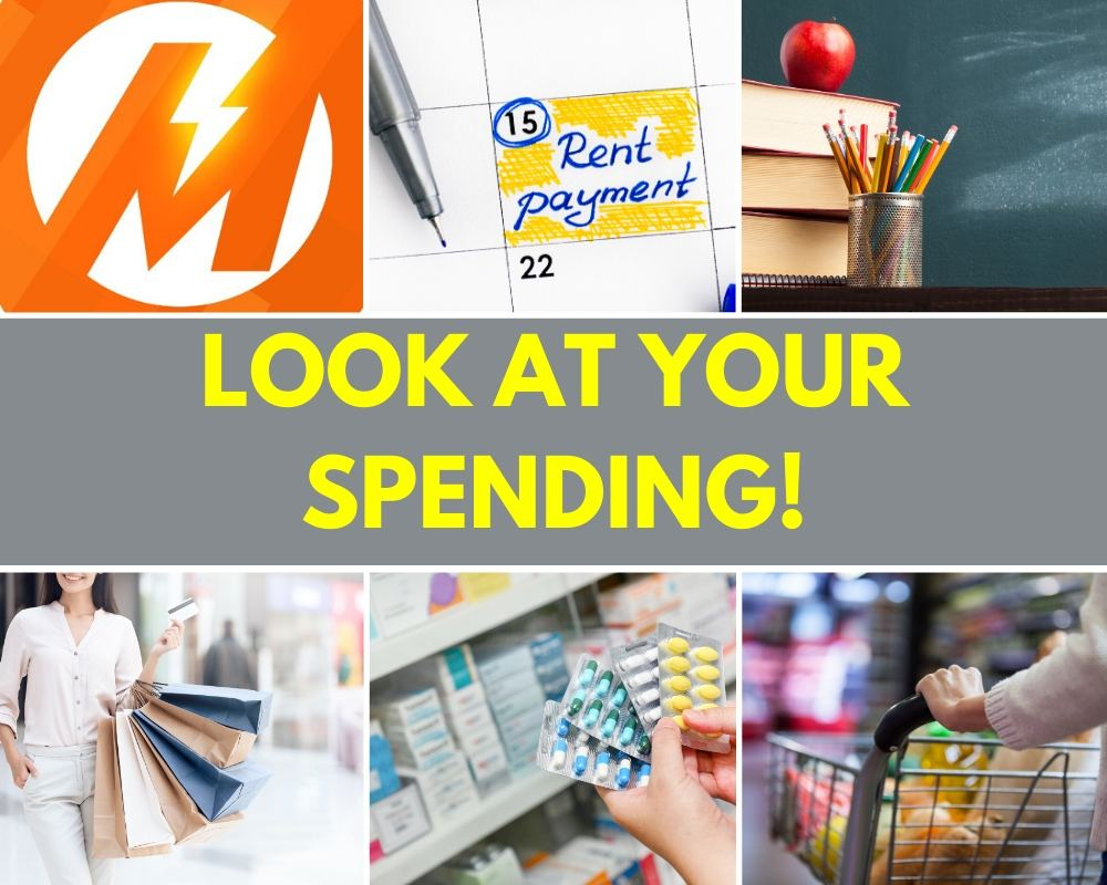 Look at your spending first before starting a savings plan.