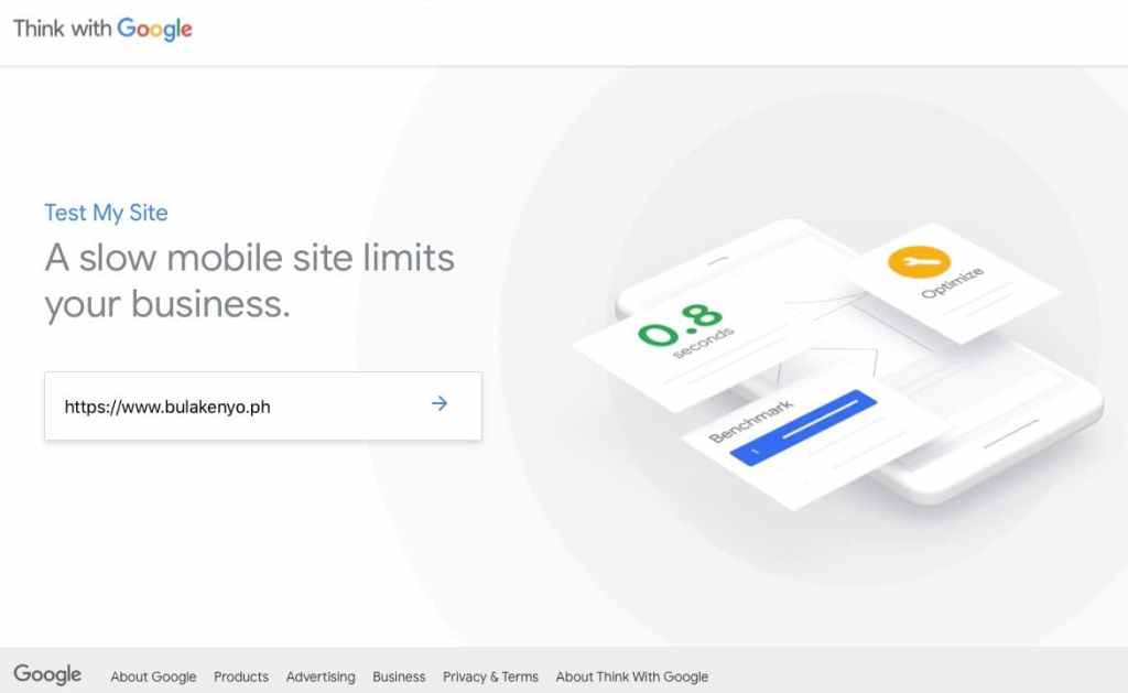 Test my Site By Think With Google