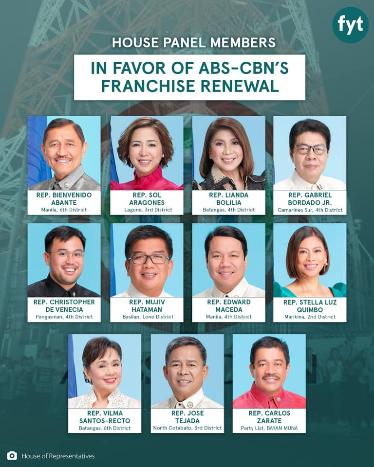 Congress Votes 70-11 To Reject ABS-CBN Franchise 2