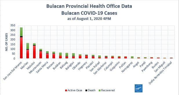 Bulacan COVID-19 Virus Journal Log Book (July to August 2020) 119