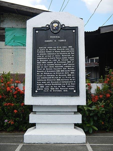 """General Isidoro Torres (1866-1928): """"Matang Lawin"""", a Maloleño Hero 1"""