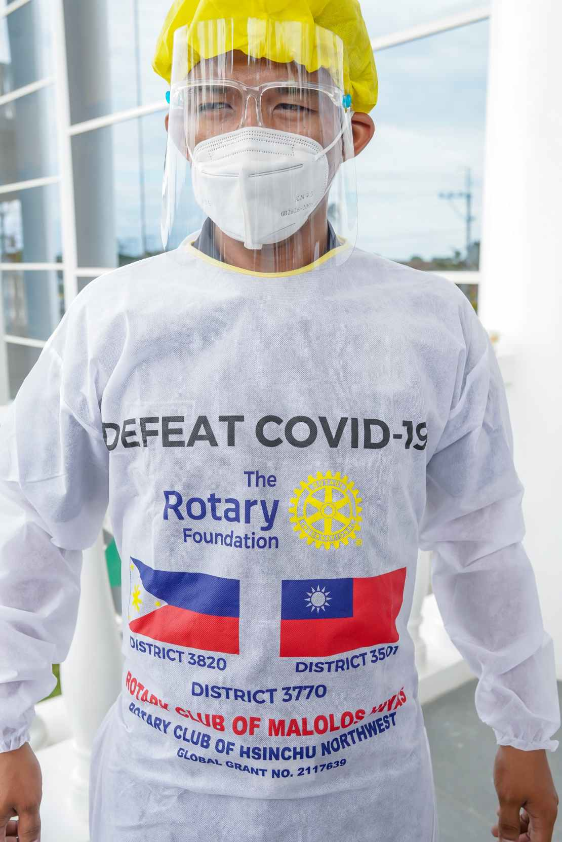 Rotary Club of Malolos Hiyas donates PhP1.5M worth of COVID Test Booths, Antigen Swab Kits, and PPEs to City of Malolos 5