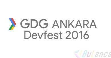 GDG devfest 2016 Ankara