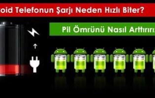 Android Telefonun Şarj Sorunu