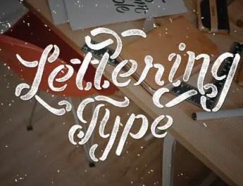 font-lettering-type