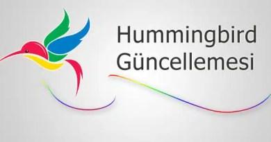 hummingbird güncellemesi