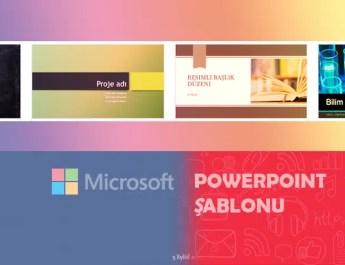 powerpoint şablonu