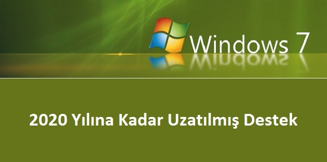 windows 7 destek