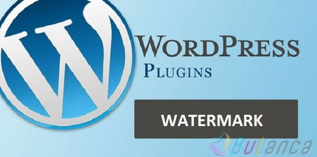 wordpress watermark