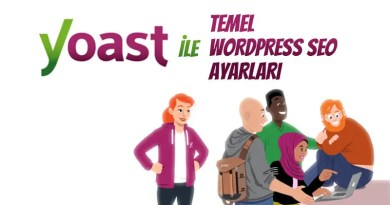 yoast seo ile temel wordpress seo