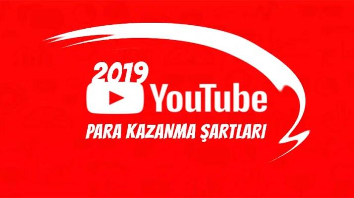 youtube para kazanma şartları