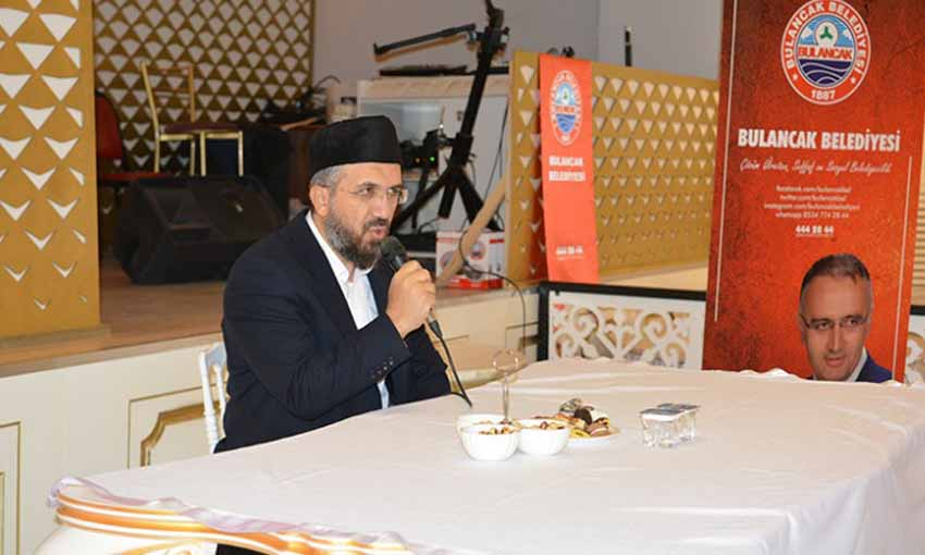 Dr. İhsan Şenocak Konferans verdi