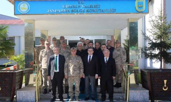 Giresun STK'larından Jandarma Bölge Komutanlığına Taziye Ziyareti