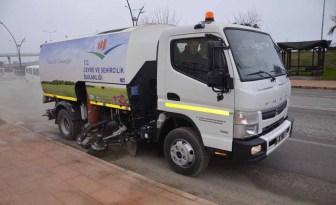 Bulancak Belediyesi Yeni Süpürme Aracı İş Başı Yaptı