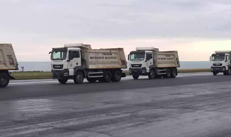 Trabzon Havalimanına ait Asfalt Tekrardan Kullanılacak